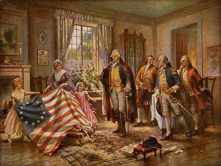 Цвета неба и солнца: история государственного флага США и несколько интересных фактов с фото