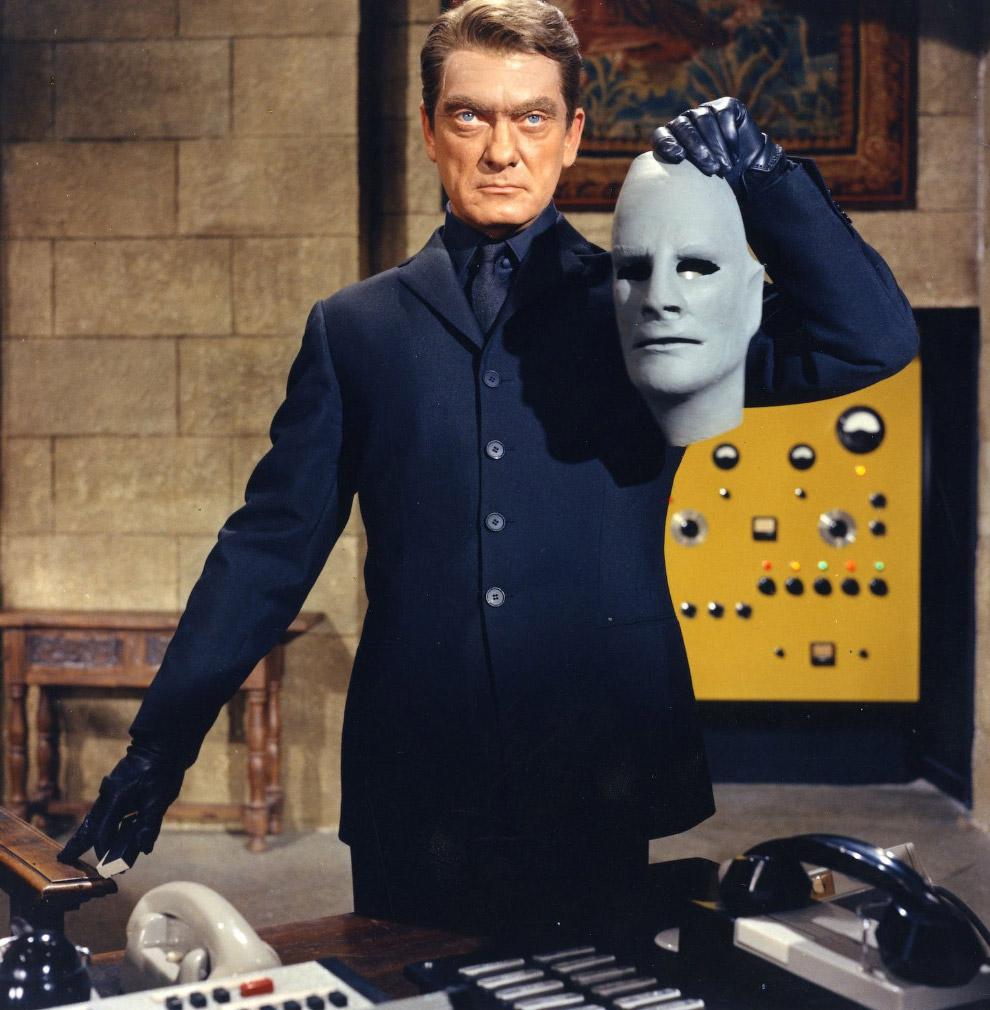 Фантома?с (фр. Fantomas, человек-фантом) — вымышленный персонаж, гениальный преступник, скрываю