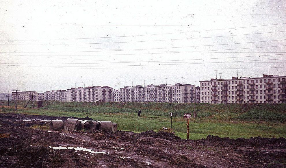 27. Какой же 1963 год без хрущевок? Ленинградская окраина.