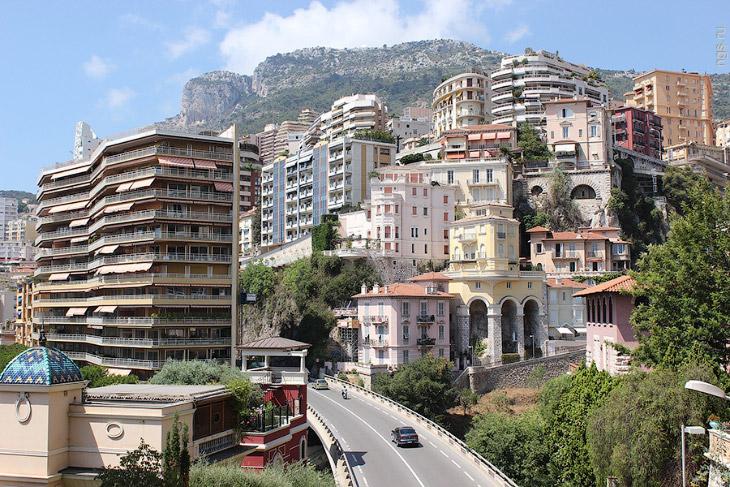 Источник: НГС 1. Княжество Монако — карликовое (площадь всего 1,974 кв. километра) государство, расп