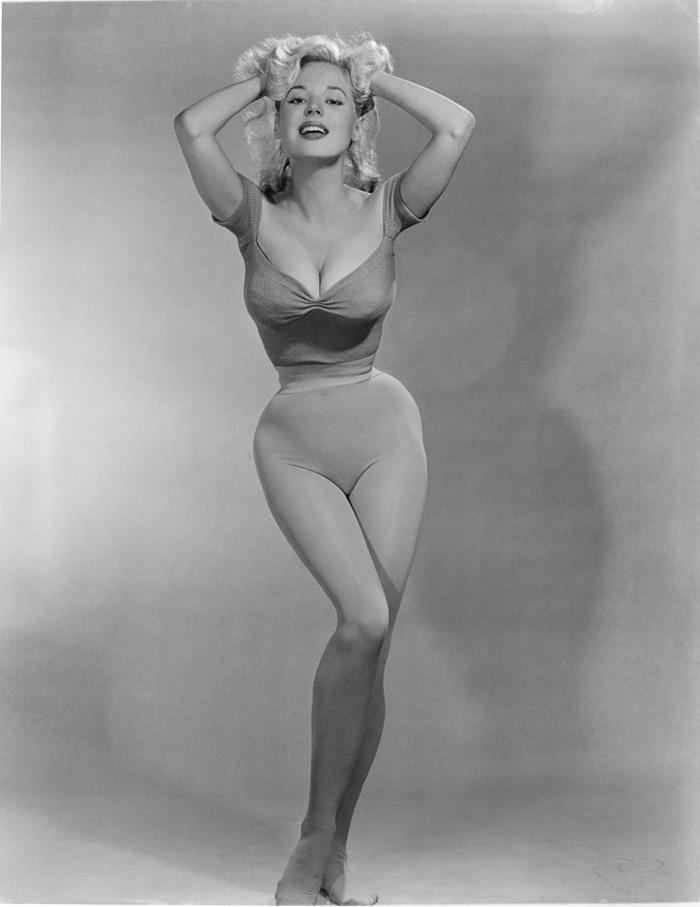 Предшественница Мерлин Монро. Самая соблазнительная красотка 50-х