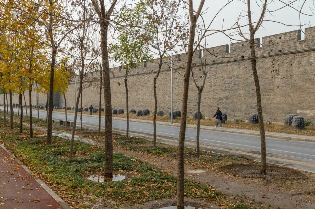 Стена крепости Ваньпин