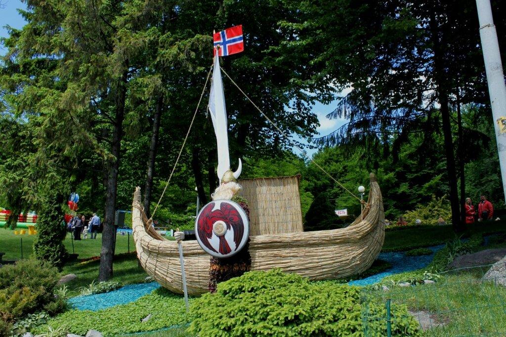 Цветочный образ Норвегии