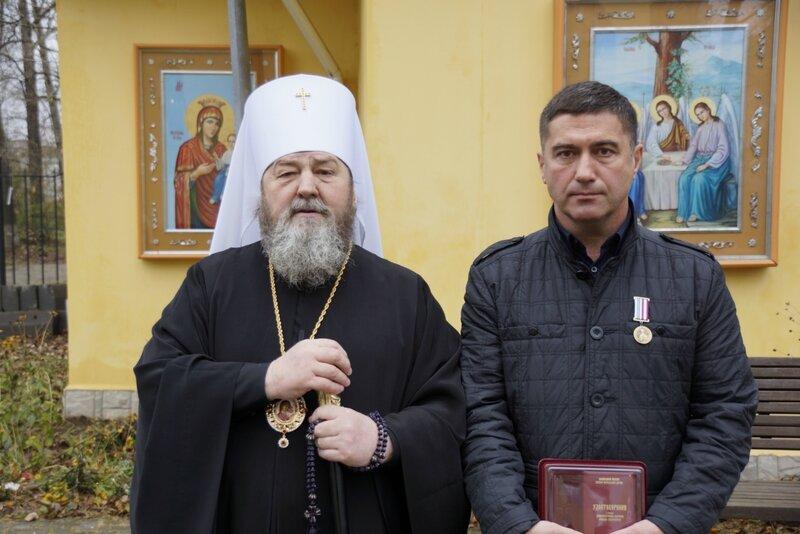 А. Г. Фефилов и митрополит Викторин