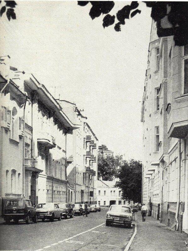 44278 В Скатертном переулке, 1981