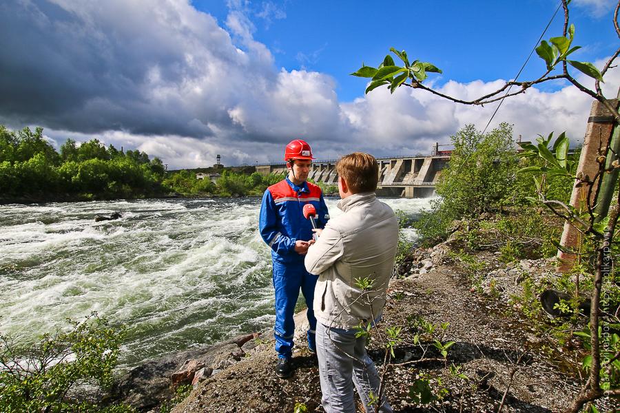 0 cd464 17974fbd orig Янискоски ГЭС на реке Паз