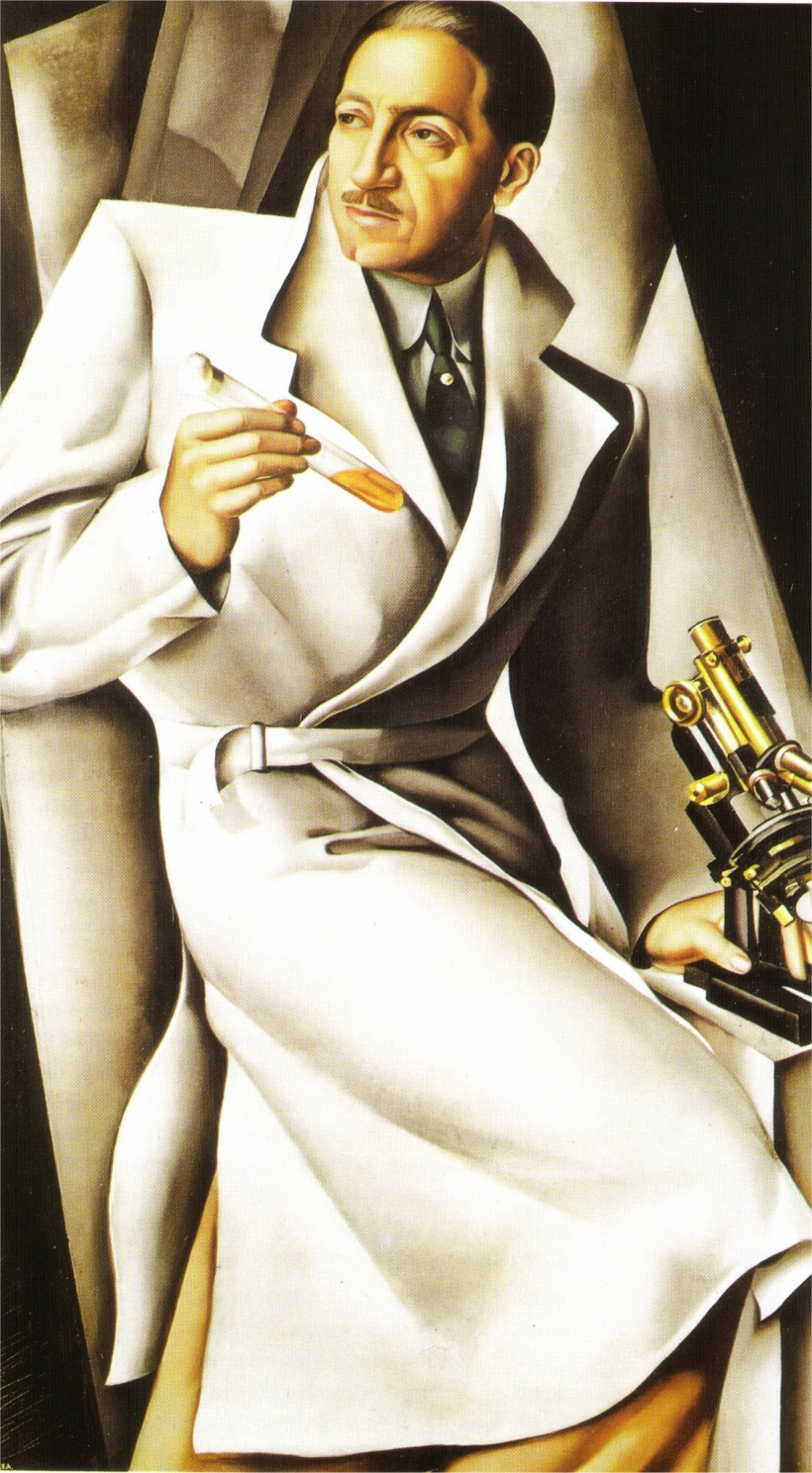 Портрет доктора Букара<br ></img>Тамара де Лемпицка · 1929