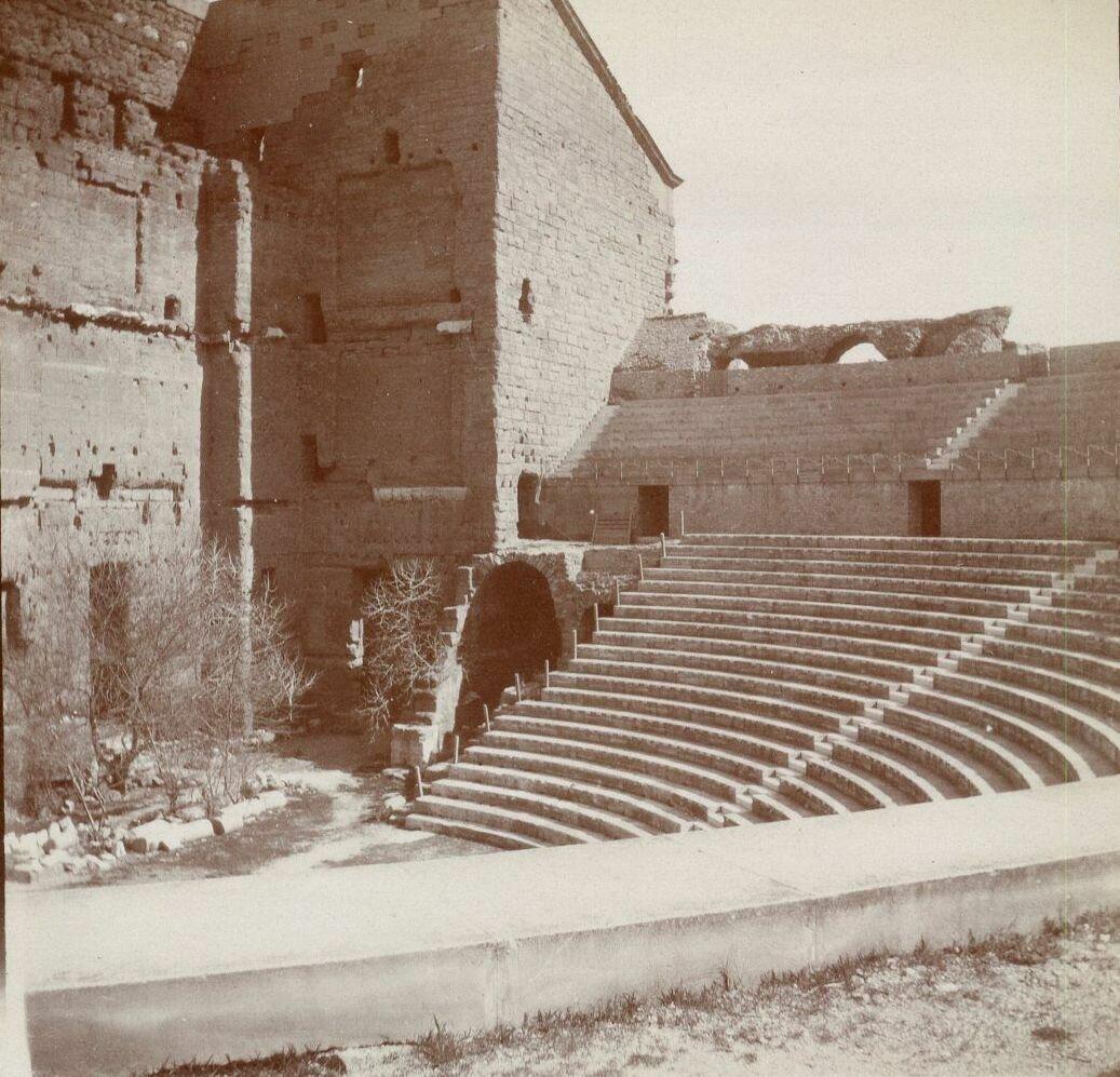 Амфитеатр. Трибуны. 1904