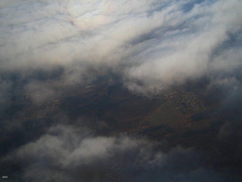 сквозь облака