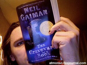 "Neil Gaiman ""The Graveyard Book"""