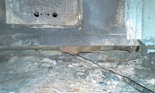 старая печь в бане фото