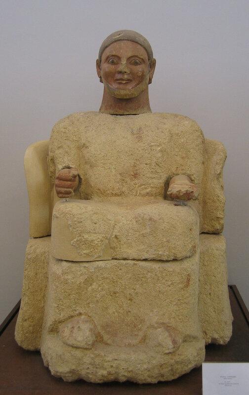Надгробная статуя из Кьюзи