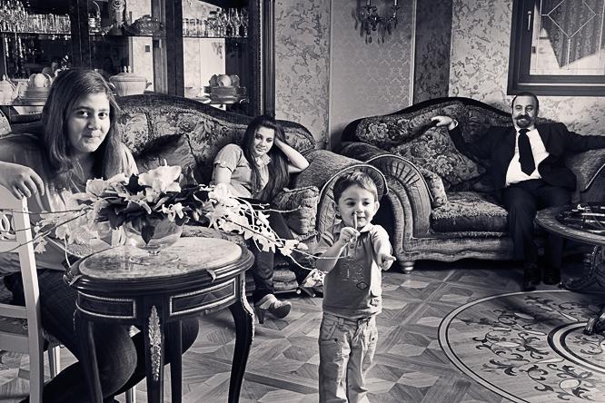 Фотосъемка семейных фотографий