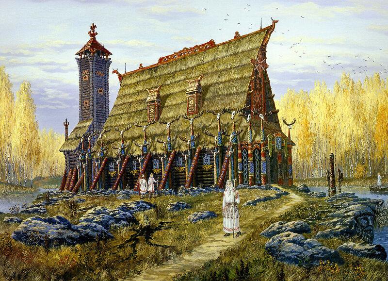 Храм Хорса. Осень