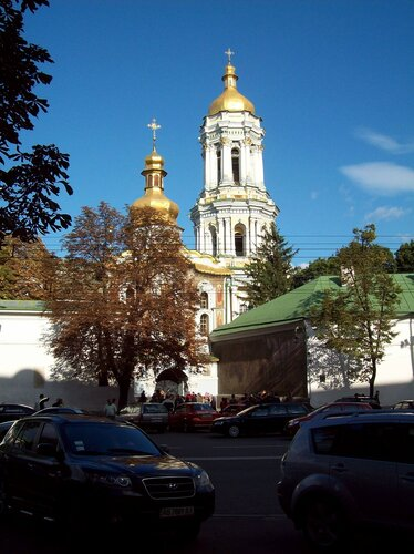 Киев.Печерская колокольня