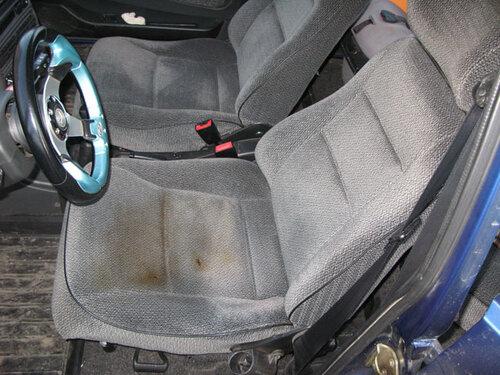 Ремонт сидений автомобиля 2114 своими руками видео