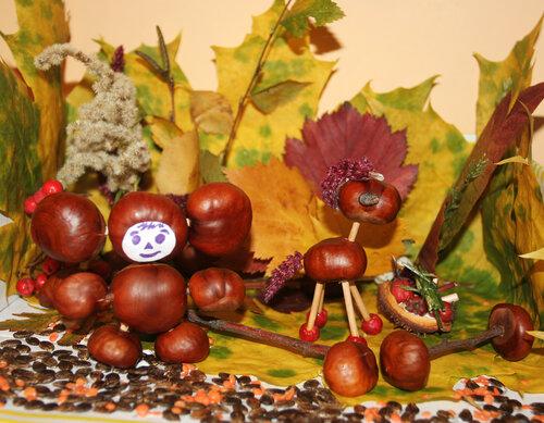 Тема осень поделки