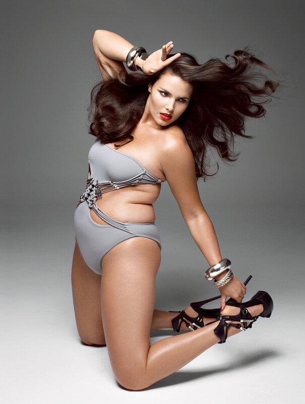 красивое фото сексуально полной женщины