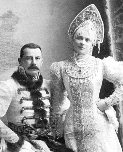 Княгиня Зинаида Николаевна и князь Феликс Феликсович Юсуповы