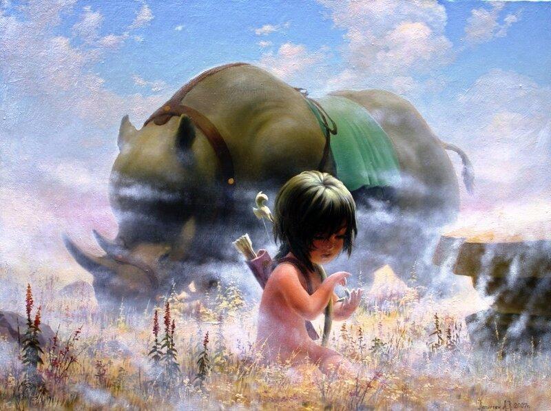 Картины художника Алексея Капустяна (22)