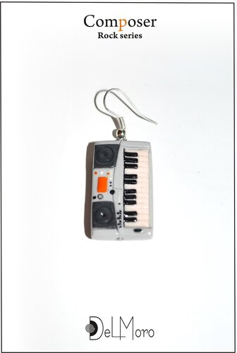 composer! - electric synthesizer earring