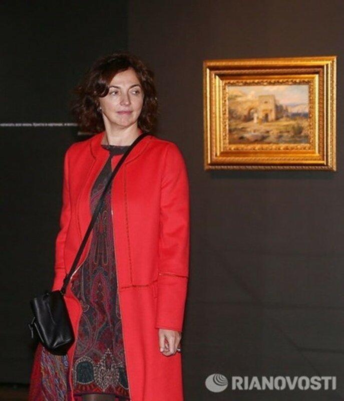 Известные жены российских политиков в фотоленте РИА Новости