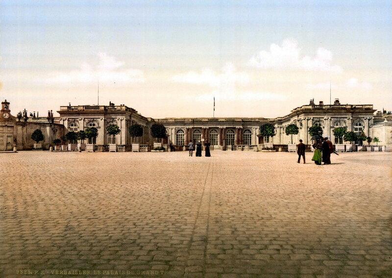 Дворец Большой Трианон, прежде называвшийся Мраморный Трианон