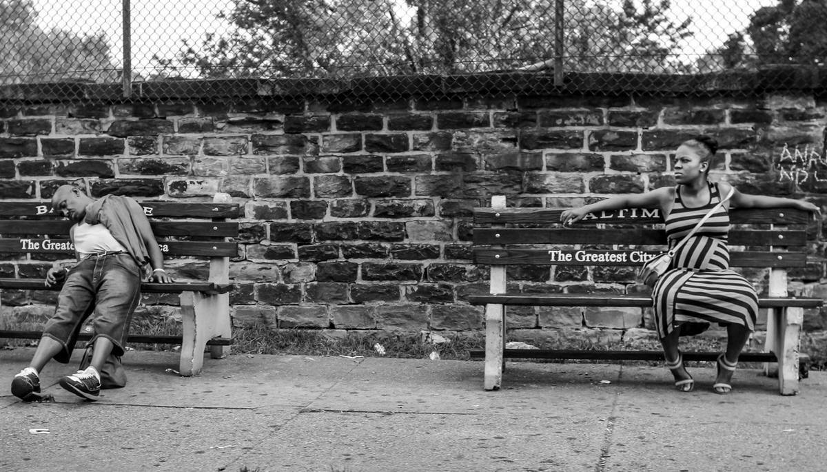 Неулыбчивая Америка: Черно-белая жизнь в бедных кварталах современного Балтимора (1)