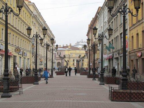 Самая романтишная улица)))) (ул. Малая Садовая)