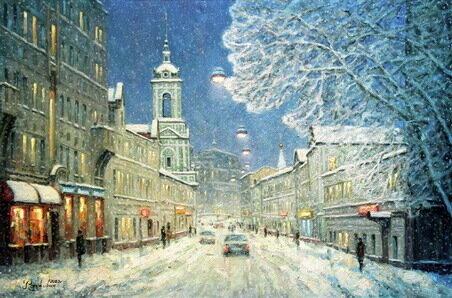 Снег на Пятницкой