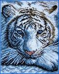 2. 1. Тигр.  Вышивается несложно.