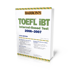Barron's Toefl 2006-2007 12th ed.