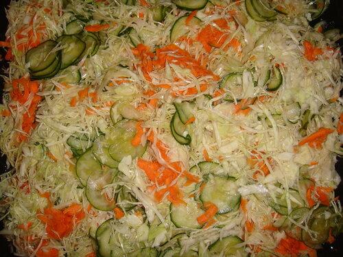 как салат делать из капусты