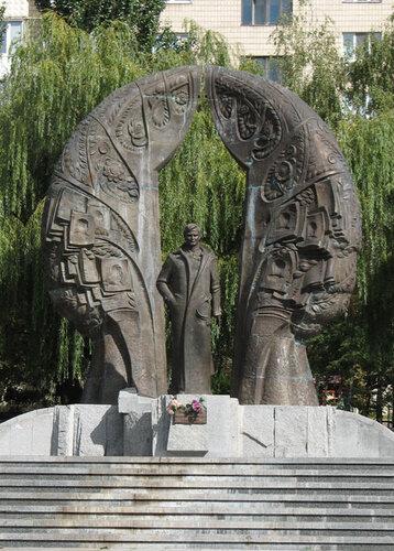 Памятник журналисту Георгию Гонгадзе