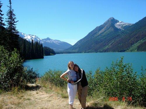 С мамой и в Канаде - как дома!
