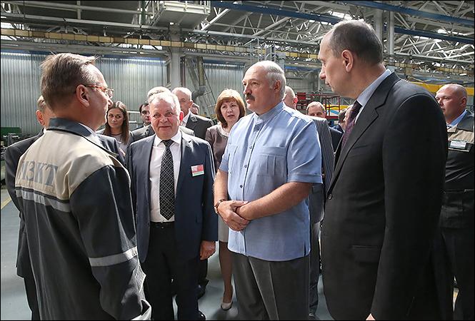 Лукашенко о приватизации МЗКТ: Если 3 млрд долларов положат, будем рассматривать этот вопрос