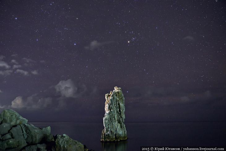 Звёзды над Крымом (16 фото)