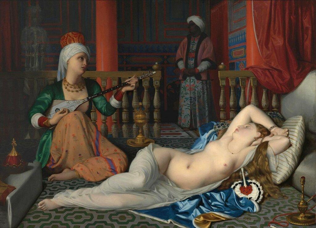 Одалиска с рабыней (по Энгру).jpg
