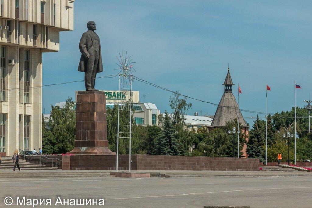 Памятник Ленину, Тула