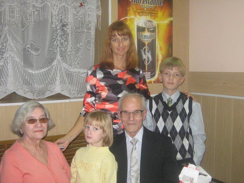 В день рождения папы и Егорки