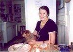 Асия Хайретдинова в гостях у Анны Юрьевны Смирновой-Марли. После завтрака. (фото - Анны Юрьевны)