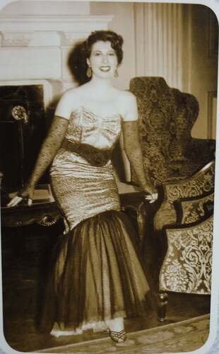 Анна Марли. Южная Африка Йоханнесбург 1954-1955 года