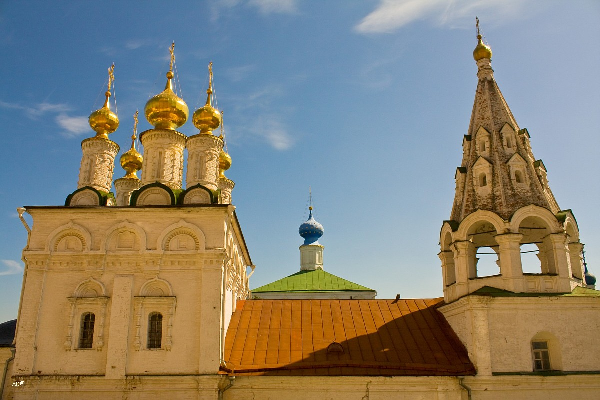 Церковь Богоявления. XVII век