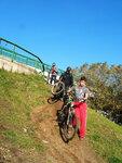 С велосипедами - по горной круче окраины Москвы!