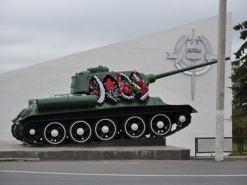 Памятник воинам ВОВ
