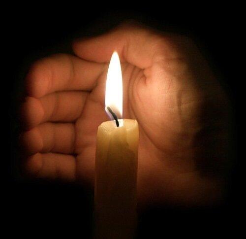 и моя свеча памяти и скорби жертвам терроризма...