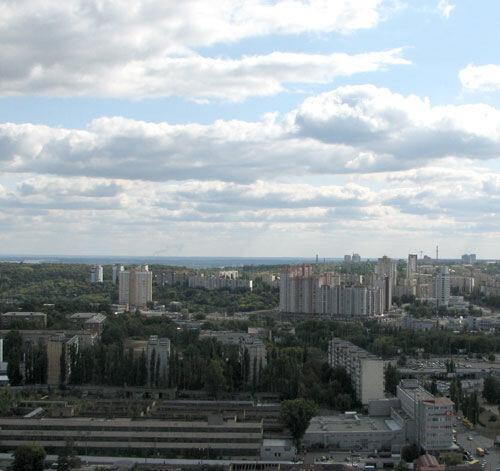 На горизонте - Днепр, Украинка, Триполье