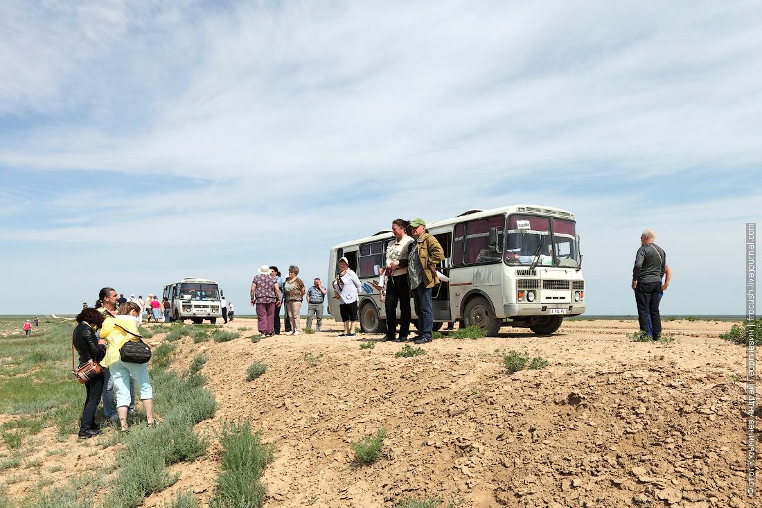 автобусы ПАЗ в Казахстане