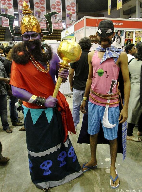 Первый съезд любителей комиксов в Бангалоре