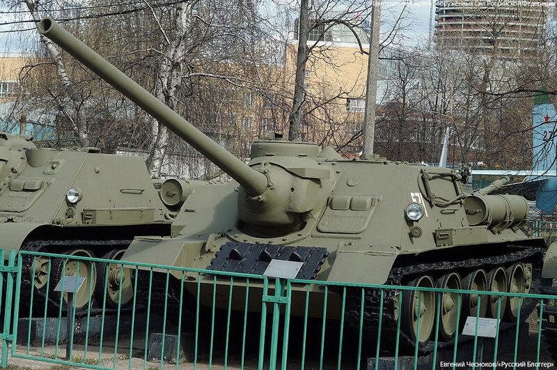 42. Музей ВС. 22.04.15.32.САУ СУ-100. 1944..jpg